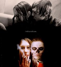 """Tate and Violet in """"AHS Murder House"""""""