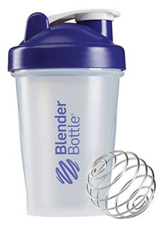 Bike Water Bottles - BlenderBottle Classic Loop Top Shaker Bottle Clear Purple 20 Ounce ** Read more reviews of the product by visiting the link on the image.