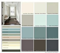 Roycroft mist grey and Aquasphere for exterior paint