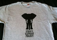 Ethan's Elephant Project: Logo T-shirt