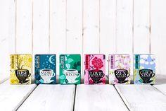 Clipper Organic Tea packaging
