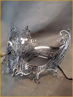 Gorgeous metals masks on this site.