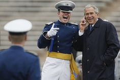 How To Thank A Soldier, By George W. Bush ~ sure do miss him!!! thankful for the work he is still doing to show honor to those who have fought honorably for our country!!!