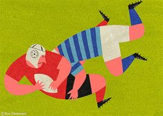 Illustrations by Ryo Takemasa | Inspiration Grid | Design Inspiration