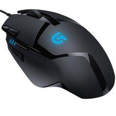 KaBuM! - Mouse Gamer Logitech Óptico Hyperion Fury 8 Botões 4000dpi G402 R$179