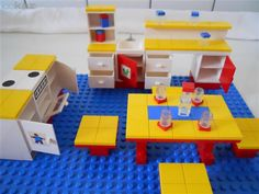70s I my Lego kitchen.   I had this!  Still have some parts.
