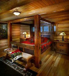 19 Magical Rustic Bedroom Interior Designs That Will Relax You 19 magische rustikale Schlafzimmer-In Rustic Bedroom Furniture, Rustic Bedding, Home Decor Bedroom, Cabin Furniture, Bedroom Rustic, Furniture Stores, Furniture Market, Black Furniture, Country Furniture