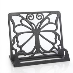 The Pioneer Woman Timeless Beauty Black Cast Iron Cookbook Holder - Walmart.com