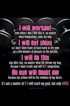Workout, eat clean, be dedicated and consistant... You will reach your goal!