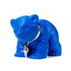 He used to work on the animatronics for Harry Potter. Now he's a jewellery designer.   KeepMe Jewellery £50. Bear included!