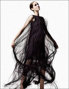 JilSander. Fringe dress