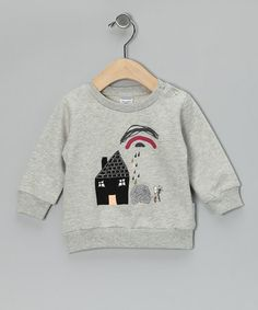 Take a look at this Gray House Out & About Organic Wool Sweatshirt - Infant & Toddler by Broken Tricycle on #zulily today!