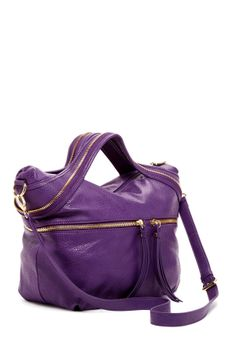 Nola Shoulder Bag. Love the color and zipper details!