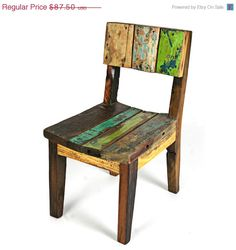 Etsy Featured Seller Sale Minna Toddlers Chair by EcologicaMalibu, $70.00