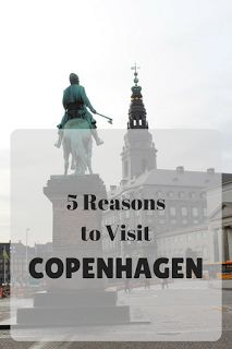 5 Reasons to Visit Copenhagen: The capital of Denmark is a beautiful city and you should definitely visit it. Here's why!