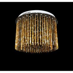 Złoty deszcz, czyli piękna lampa od Lumina Deco
