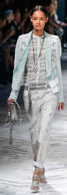 Roberto Cavalli - Spring /14.... YES please! I would not wearing all at the same time but I love it!