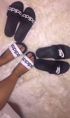 ca1536864ea1d1 թínterest   ɑlreɑdyեɑkenxօ♡ Adidas Slides Outfit