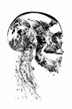FANTASMAGORIK® LIQUID SKULL by obery nicolas