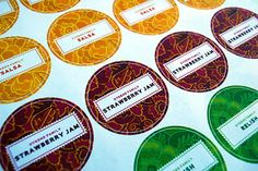 More Than Today: Canning Labels - Free!