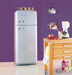 Deco Cool, Little Kitchen, Top Freezer Refrigerator, Filing Cabinet, Sweet Home, Kitchen Appliances, Storage, Comme, Diy