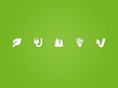 Green Energy Icons by Dutch Icon