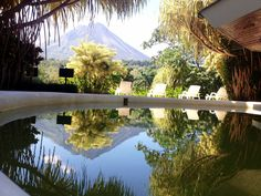 Arenal Paraiso Resort View from the pool bar.  #MyCostaRica