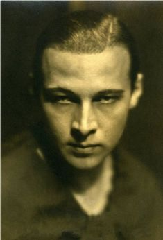 Rudolph Valentino's last photograph for Photoplay Magazine