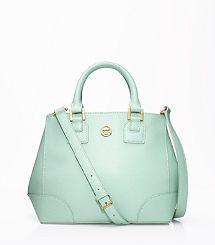 LOVE LOVE LOVE THIS MINT BAG FOR FALL!! Robinson Mini Square Tote