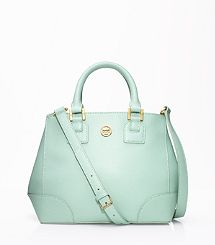 LOVE LOVE LOVE THIS MINT BAG FOR FALL!! Robinson Mini Square Tote