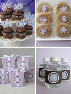Love the idea of these stickers and labels.. Not crazy about colors but with a monogram would be cute!!