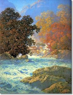 Misty Morn by Maxfield Parrish