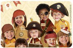 """Novedad pirata. Con nuestro modelo de orla """"Decid patata"""" podemos crear una lámina muy especial para vuestro cole. Que os gustan los animales, pues todos los peques con orejitas y detalles de bichejos; ¿fans de los piratas? ¡sombreros y patas de palo por doquier!; ¿disfrutan con las historias de princesas y caballeros? la escuela convertida en el salón del trono del más imponente castillo ¿quién será el rey?... Orlando, Nice Things, School Ideas, Captain Hat, Hats, School, Throne Room, Group Photos, Knights"""