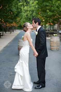 An all time favorite.  As seen in Smitten Magazine #wedding #kiss #megsextonphotography