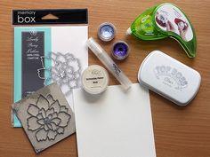 Karten-Kunst Techniques-Blog - Blitz-Colorieren #1