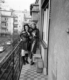 Index - Fortepan - Szevasz, van nálatok terasz? Budapest, Past, Culture, Hungary, Past Tense
