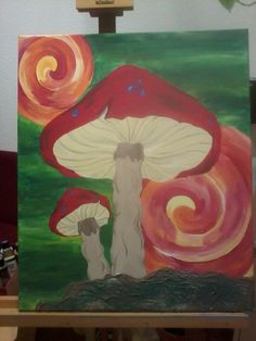 Mushrooms by Jonsy Ziegler