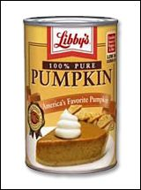 HG Salutes: Canned Pumpkin!