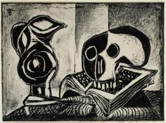 Pablo Picasso 'Black Jug and Skull', 1946 © Succession Picasso/DACS 2016