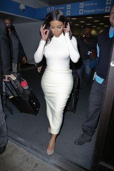 62302b46da9 Kim arriving at Bob Hope Airport in Burbank Kim Kardashian Khloe  Kardashian