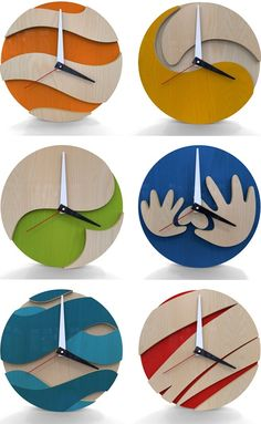 130 Creative Wall Clock Design Ideas www.futuristarchi The post 130 Creative Wall Clock Design Ideas www.futuristarchi appeared first on gift. Awesome Woodworking Ideas, Diy Woodworking, Woodworking Organization, Woodworking Quotes, Woodworking Patterns, Woodworking Supplies, Wood Crafts, Diy And Crafts, 3d Laser Printer