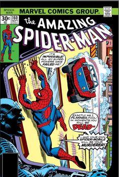 For sale marvel comics amazing spiderman 160 stan lee john romita artwork gil kane jack davis emorys memories. Marvel Comic Books, Comic Books Art, Comic Art, Univers Marvel, Book Cover Art, Comic Book Covers, Book Art, Dc Universe, Comics Spiderman