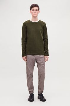 Explore the menswear sale: a selection of modern men's clothing and accessories now available for less in our latest sale. Color Khaki, Khaki Green, Mens Modern Clothing, Small Wardrobe, Mens Shoes Boots, White Shirts, Modern Man, New Product, Long Sleeve Tops