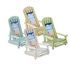 Beach Chair Photo Frame Christmas Covers Pattern 209 Best Minis House Cottage Hut Cabana Chairs Driftwood 6 X 4 Blue Picture Frames