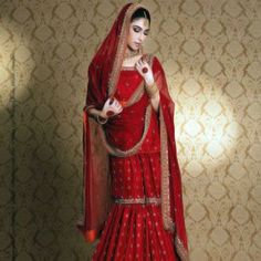 Indian bridal red pakistani wedding dresses Ideas for 2019 Pakistani Wedding Dresses, Pakistani Outfits, Indian Dresses, Pakistani Gharara, Sabyasachi, Indian Outfits, Indian Bridal, Dress Collection, Bridal Collection