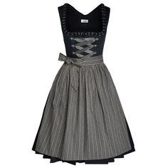 Midi Dirndl Finchen in Schwarz von Almsach Japanese Streets, Japanese Street Fashion, Hennin, Dresses For Work, Summer Dresses, Trends, Feminine, Street Style, Style Inspiration