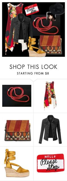 """""""The summer is ending ... new look!"""" by colchico ❤ liked on Polyvore featuring Chilli Pepper, Champagne, Chloé, LE3NO and Tory Burch"""