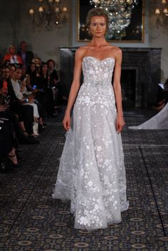 Mira Zwillinger 2016 stardust  How amazing is this gown