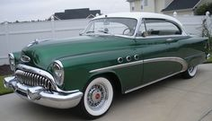 1953 Buick Special Riviera two door hardtop