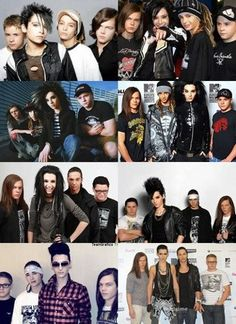 Bill Kaulitz Then And Now